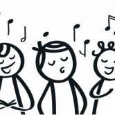 Optreden van Rivers Girl's choir