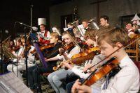 Leerlingen T2muziek op Nieuwjaarsreceptie Lion's Club