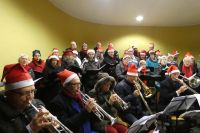 Christmas Carols in muziektent Heelsum