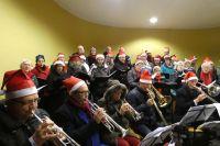 Christmas Carols in muziektent Heelsum