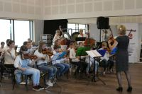 Optreden in muziektent Heelsum