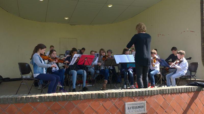 Leerlingenorkest muziekschoolt T2 Heelsum