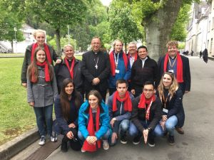 Jongerenkoor St. Anthonius populair in Lourdes