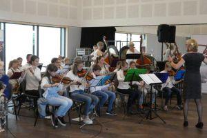 Jaarlijks uitvoering leerlingenorkesten Renkum/Heelsum