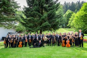 Engels jeugdorkest treedt op in de regio
