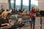 Eveline tijdens talentenjacht muziekschool T2 (3)